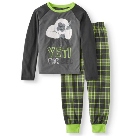 Komar Kids Boy's Yeti 2-piece Pajama Sleep Set (Little Boys & Big Boys)