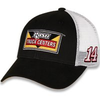 Clint Bowyer Stewart-Haas Racing Team Collection Draft Trucker Adjustable Hat - Black/White - OSFA