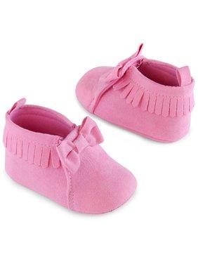 GeoxELTHAN GIRL - Baby shoes - navy/pink 2BINfSHGI