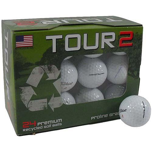 Titleist NXT Tour Golf Ball Mix, White, 24-Pack