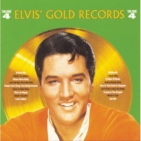 Elvis' Golden Records 4 (CD) ()