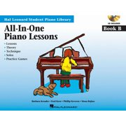 All-In-One Piano Lessons Book B : International Edition