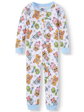 2189751b9 Toddler Boys One-piece Pajamas - Walmart.com
