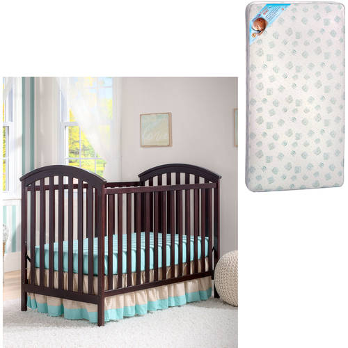 Delta Children's Products Arbour 3-in-1 Crib and Mattress Value Bundle