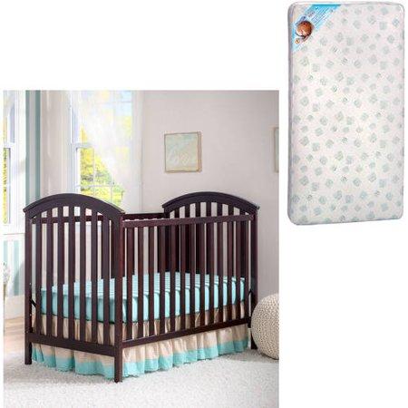 Delta Children;s Products Arbour 3-in-1 Crib and BONUS Mattress Bundle
