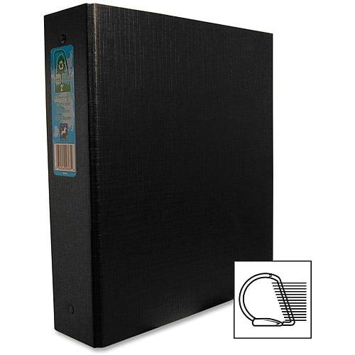 Aurora Products Heavy-Duty Black D-Ring Binders