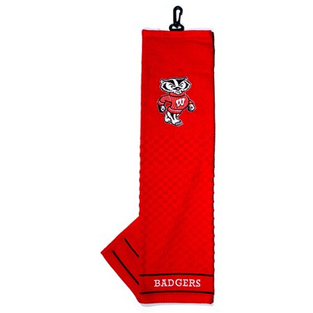 Team Golf NCAA Wisconsin Embroidered Golf Towel Eagles Embroidered Golf Towel