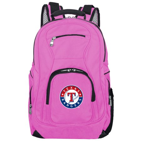 - MLB Texas Rangers Pink Premium Laptop Backpack