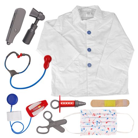 TopTie Doctor Nurse Role Play Set Dress Up Surgeon Costumes Set For Kids Great Gift Idea-Doctor-S](Doctor Toddler Costume)