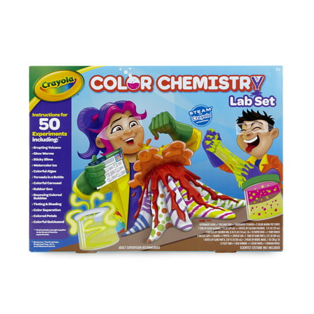 Crayola Color Chemistry Lab Set for Kids, Steam/Stem Activities, Gift for Ages - Halloween Party Activities For 11 Year Olds