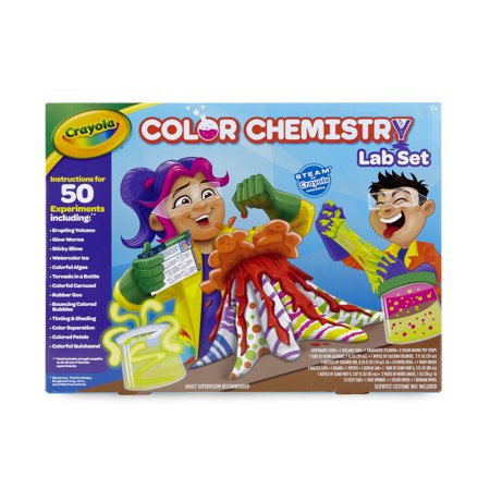 Crayola Color Chemistry Lab Set for Kids, Steam/Stem Activities, Gift for Ages 7+
