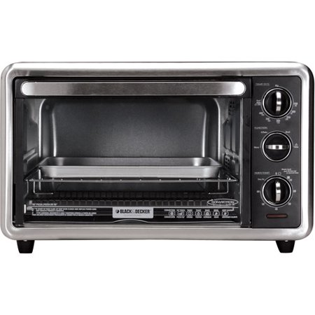 BLACK+DECKER 6-Slice Convection Toaster Oven, Silver, TO1216B - Best ...