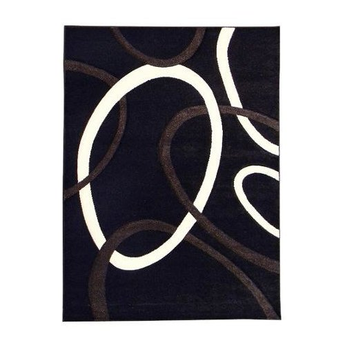 American Cover Designs Hollywood Black Area Rug