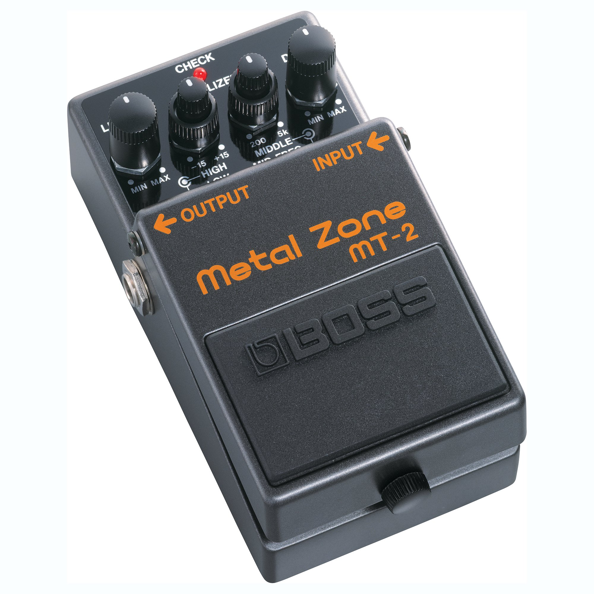 Boss MT-2 Metal Zone Multi Effects Stomp Amp Guitar Processor Pedal Stompbox by Boss