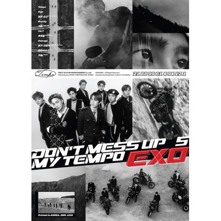 Exo The 5th Album Dont Mess Up My Tempo Allegro Ver Cd