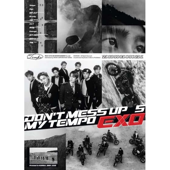 Exo The 5th Album Don T Mess Up My Tempo Allegro Ver Cd