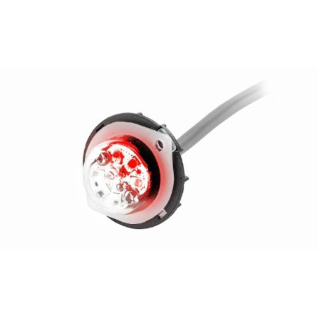 Emergency Vehicle Equipment - Abrams Blaster Emergency Vehicle LED Hideaway / Surface Mount Strobe Warning Light - Red/White