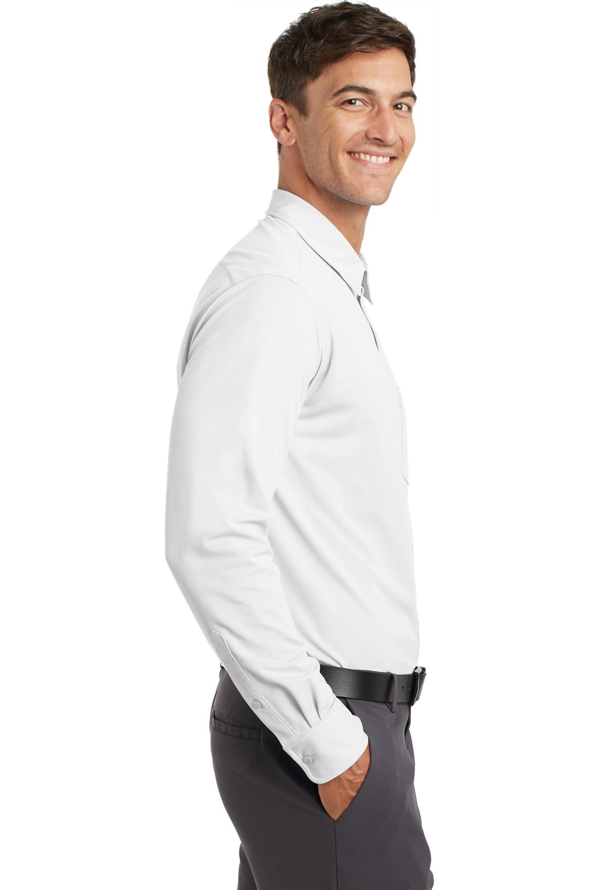 Port Authority Port Authority Mens Dimension Knit Dress Shirt