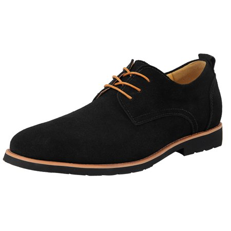 - iLoveSIA Men's Leather Suede Oxfords Shoe