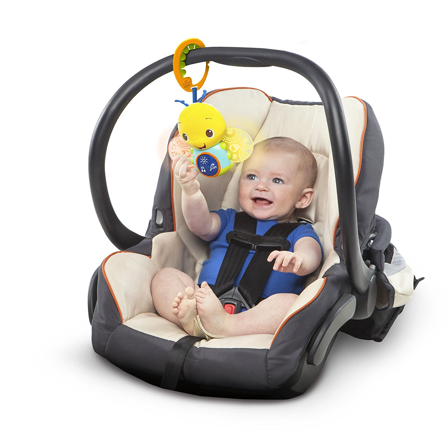 Take Along Toy Beaming Buggie By Bright Starts Ship From US