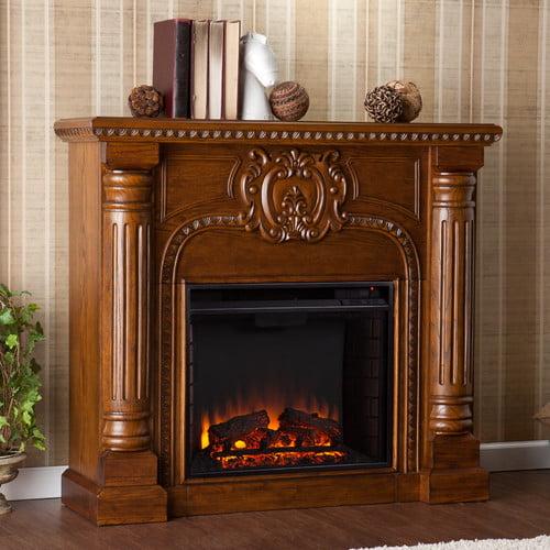 Wildon Home Crawford Electric Fireplace - Walmart.com