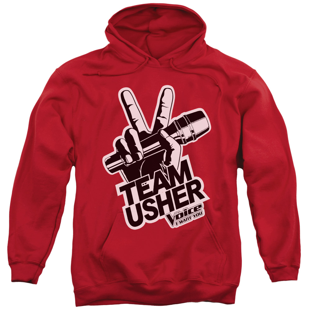 The Voice Usher Logo Mens Pullover Hoodie
