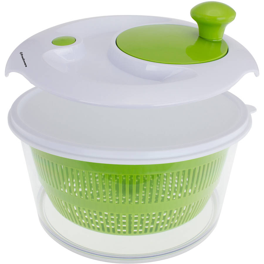 Freshware Salad Spinner with Storage Lid, KT-503 by Overstock