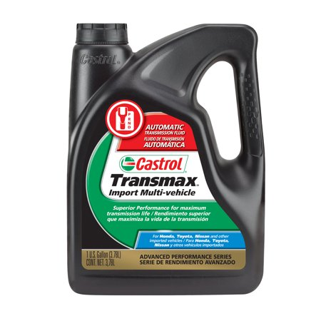 Castrol TRANSMAX IMPORT Multi-Vehicle Automatic Transmission Fluid, 1