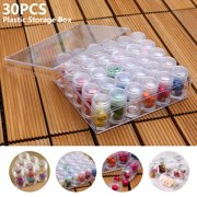 Willstar Embroidery Diamond Storage Box for Diamond Painting with Containers with Lid for Jewelry DIY Art Craft