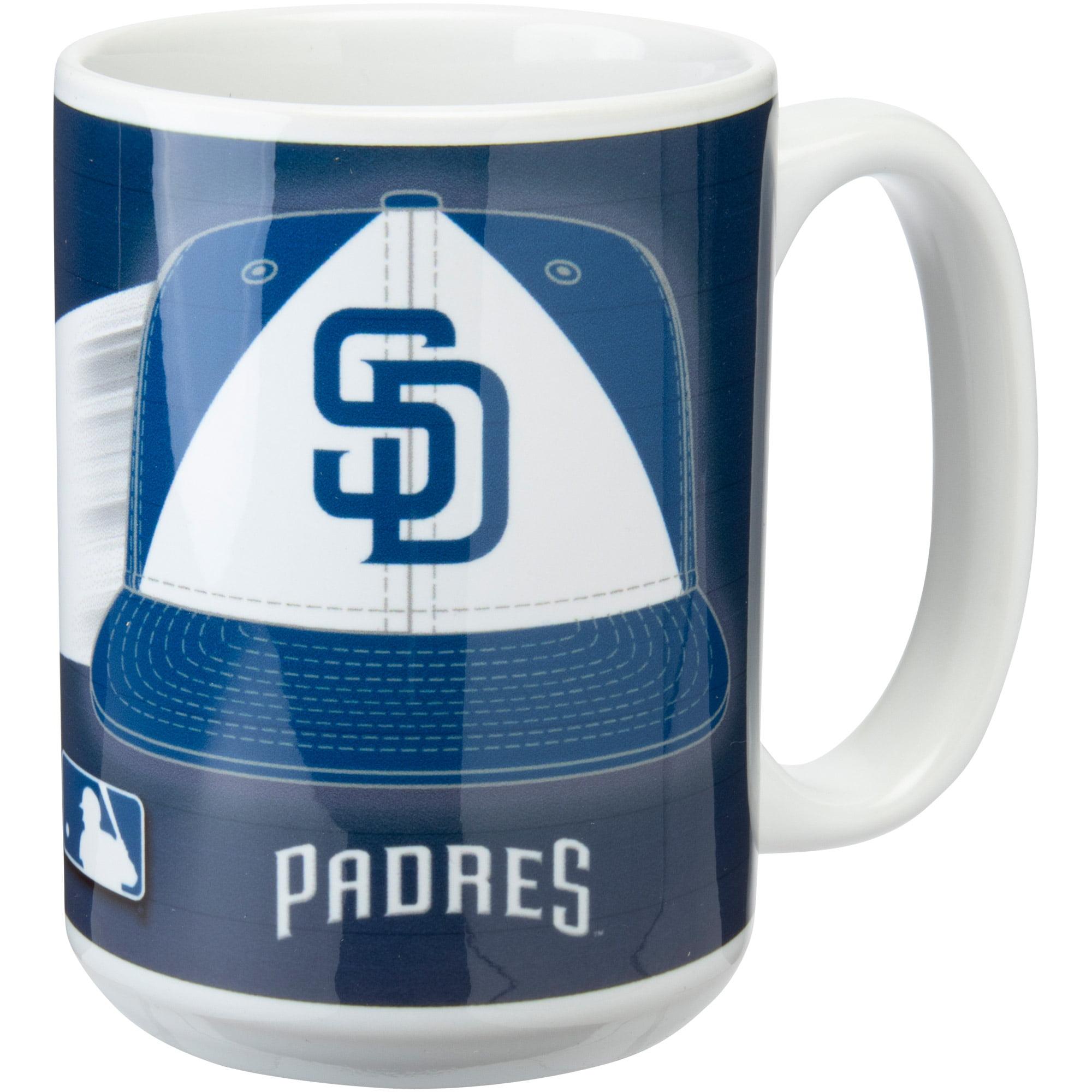 San Diego Padres 15oz. Team 3D Graphic Mug - No Size