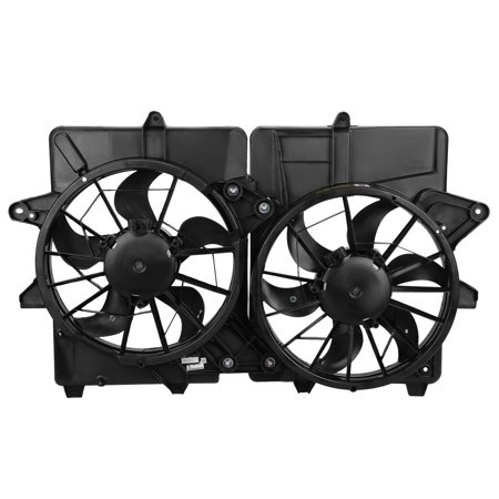 For 2005 to 2007 Ford Escape Mercury Mariner Mazda Tribute 2.3L Non Hybird Factory Style Raidator Cooling Fan Assembly FO3115159 (2007 Ford Edge Cooling Fans Not Working)