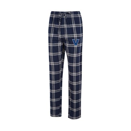Villanova University Men's Pajama Pants Plaid Pajama Bottoms