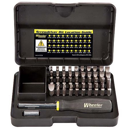 Wheeler Professional Gunsmithing Screwdriver Set, 43pc