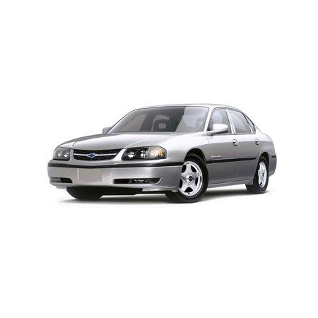 Trim Illusion Fits 00-05 Chevy Impala 6Pcs- S.S. Pillar Post (2010 Chrome Pillar Post)