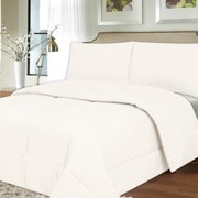 All Season Hypo-Allergenic Lightweight Down Alternative Comforter Comforter, white, full