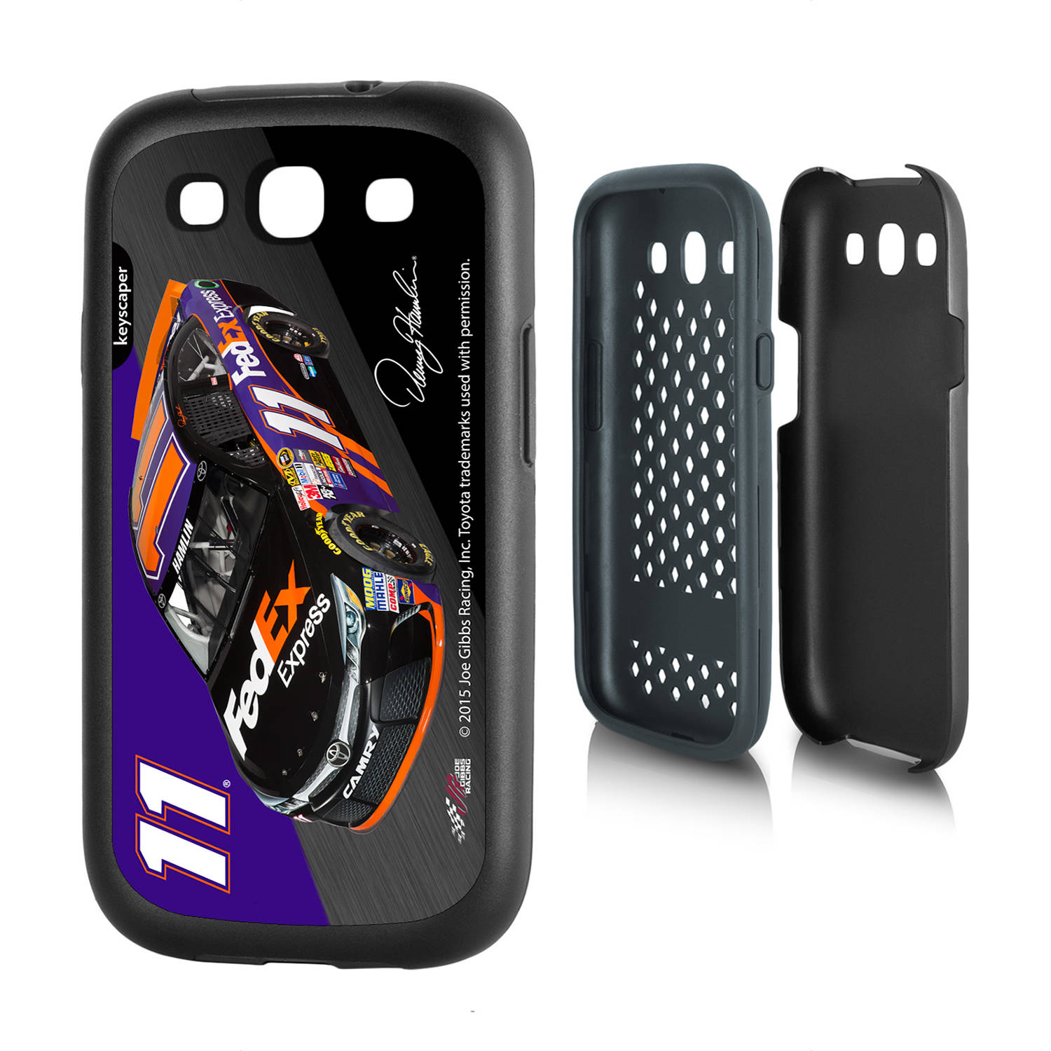 Denny Hamlin #11 Galaxy S3 Rugged Case