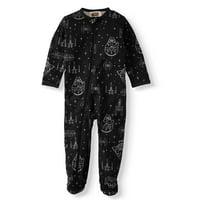 Matching Family Christmas Pajamas Star Wars Unisex Baby Boy or Girl One-Piece Sleeper