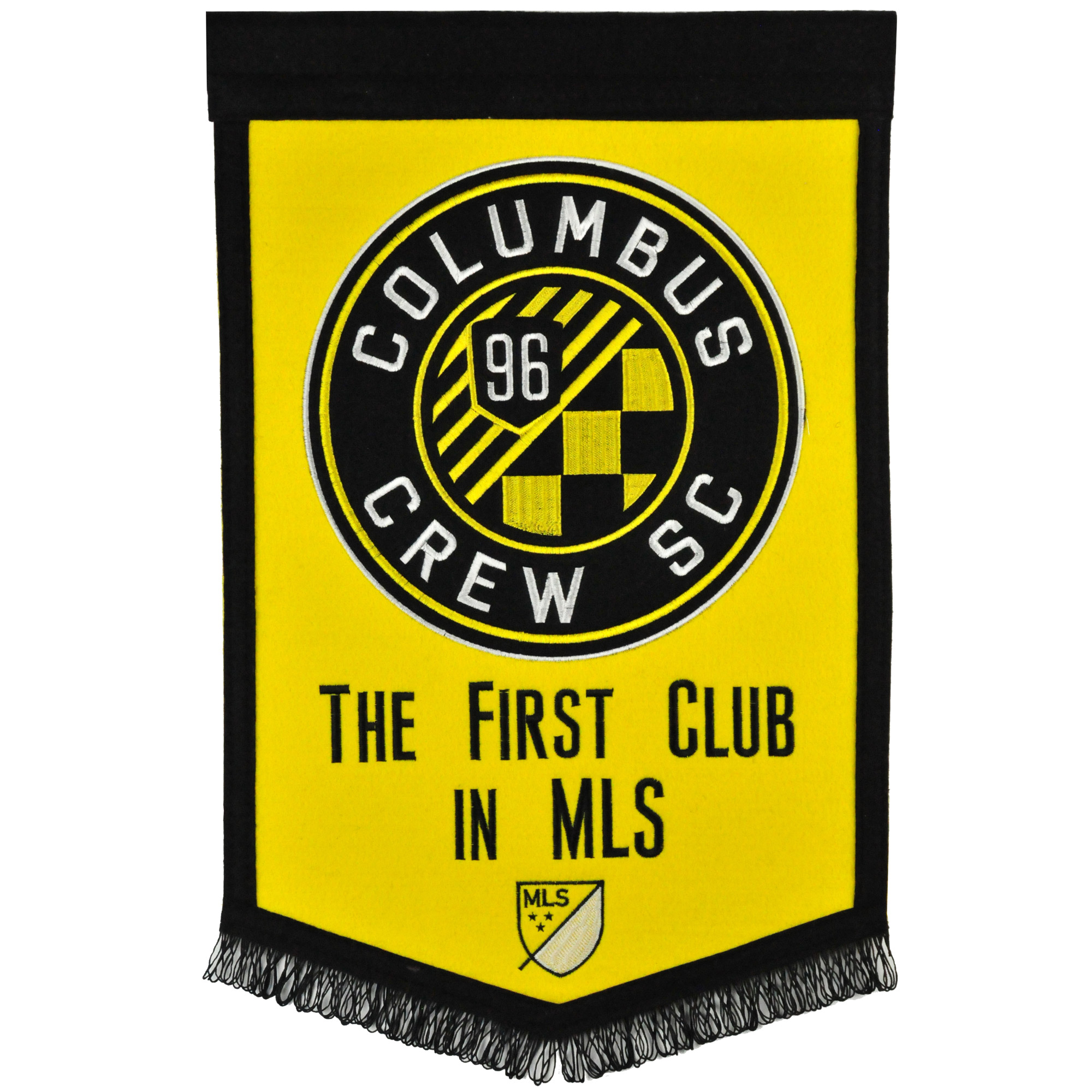 "Columbus Crew SC 12"" x 18"" MLS Traditions Banner - No Size"