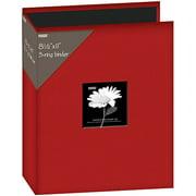 "Fabric 3-Ring Binder Album With Window, 8.5"" x 11"""