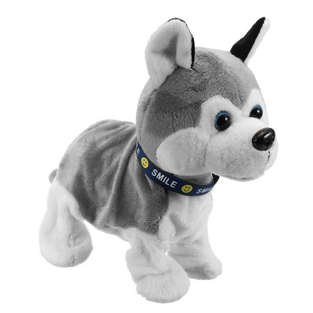 Funny Electronic Plush Toys Sound Control Interactive Bark Stand Walk Handstand Electric Puppy Dog Toy Kid Child Gift](Halloween Puppy Gif)