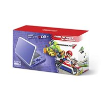 Refurbished Nintendo 2DS XL New Model Purple Silver With Mario Kart 7 Pre-Installed Handheld JAN-001