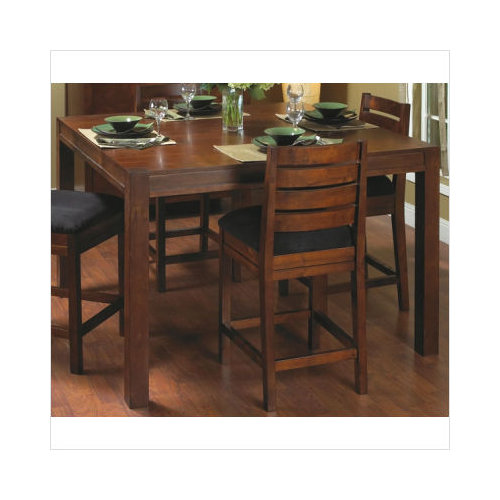 Zocalo Sterling Park Gathering Table In Dark Cherry