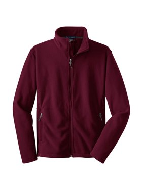 Port Authority Men's Big And Tall Zipper Value Fleece Jacket