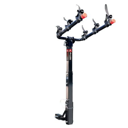 Allen Sports Deluxe 3-Bike Hitch Rack for 1 1/4 in and 2 in Hitch