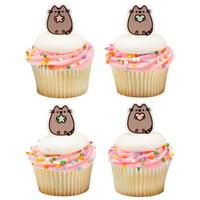 Pusheen Cat Cupcake Cake Decopics Pics Picks Toppers Decorations 12 Count
