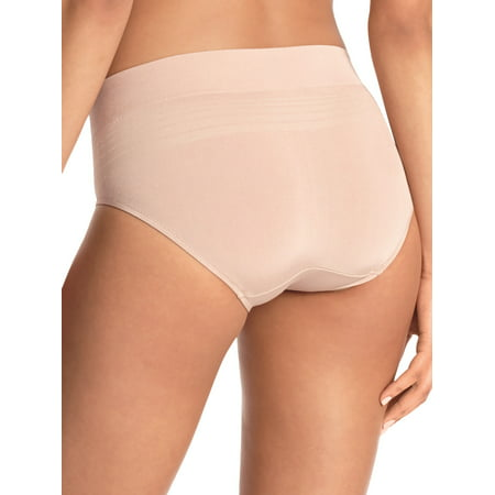 Blissful Benefits by Warner's® Women's No Muffin Top Seamless Hipster, 3-Pack