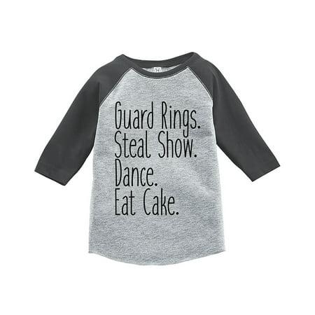 Ring Bearer Shirts For Toddlers (7 ate 9 Apparel Toddler Boy's Funny Ring Bearer Wedding Grey Raglan -)