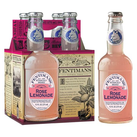 Fentimans North America Rose Lemonade - Lemonade - Pack of 6 - 9.3 Fl Oz.