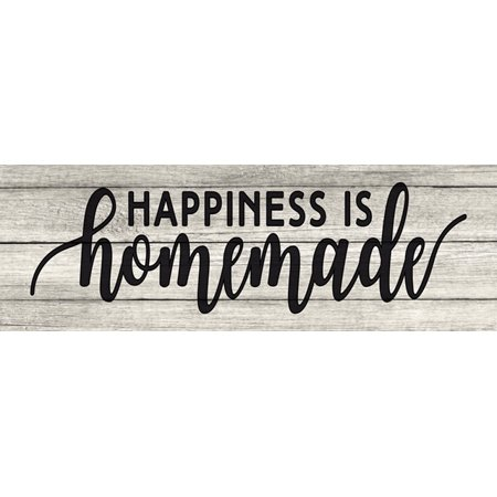 Happiness is Homemade Farmhouse Chic White Farmhouse Wood Sign Wall Décor Gift 6 x 18 Wood Sign B3-06180028177](Home Made Halloween Decor)