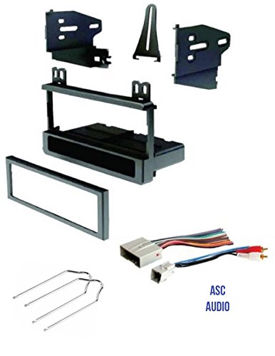 car stereo install dash kit, wire harness, and tool for ford 03 11 crown vic, 04 mustang; lincoln 04 05 aviator, 04 06 navigator (no nav); merc 2003 Grand Marquis Wiring Harness